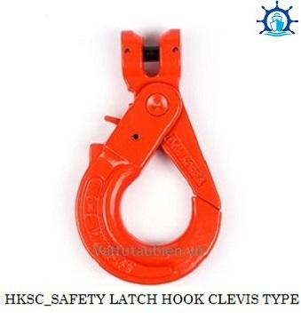 SAFETY LATCH HOOK CLEVIS TYPE-HKSC