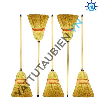 Corn Broom With Long Handle