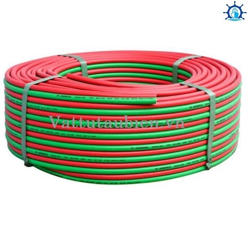 Rubber Twin Welding Hose Molded & Braided Contruction