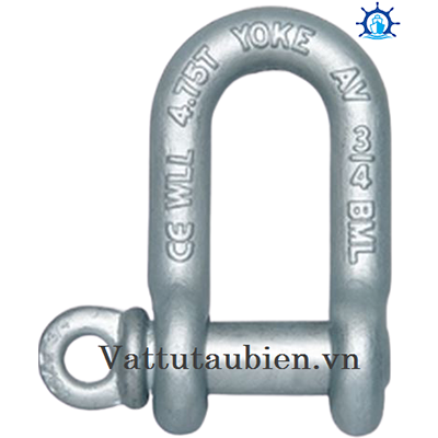 Forged Carbon Chain Shackle With Screw Pin