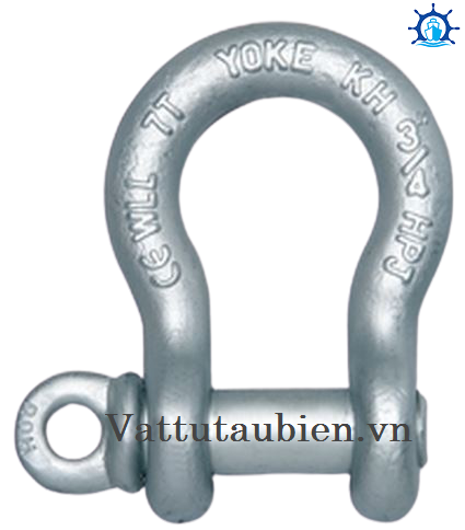 Forged Alloy Anchor Shackle With Screw Pin