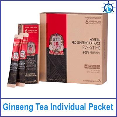 Ginseng Tea Individual Packet