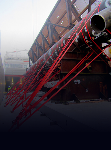 Cargo Lashing & Securing-Stevedore Services -Packaging Services - Cargo Protective Cover Tarpaulin